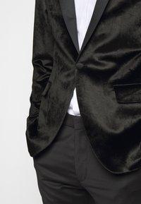 KARL LAGERFELD - JACKET SIGNATURE - Blazer - black - 4
