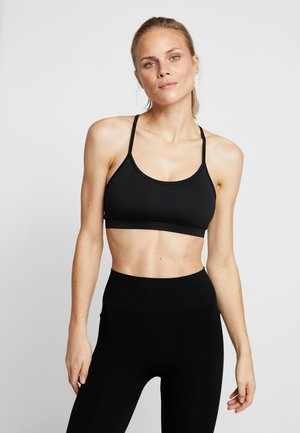 YOGA BRA - Light support sports bra - black