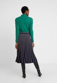s.Oliver - A-snit nederdel/ A-formede nederdele - navy - 2