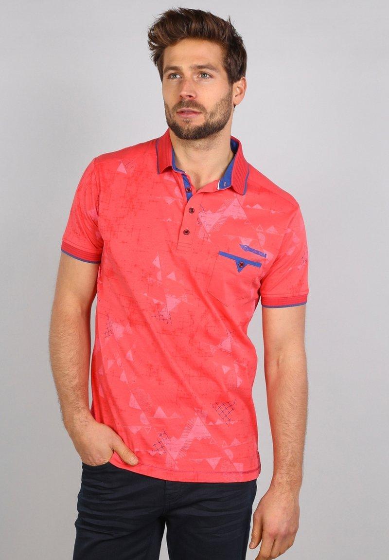 Gabbiano - Polo shirt - coral