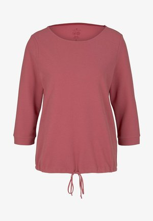 Long sleeved top - cozy pink