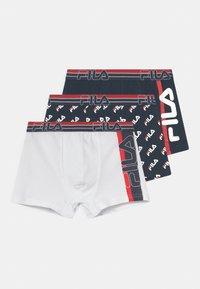 Fila - BOYS 3 PACK - Panties - navy/white - 0