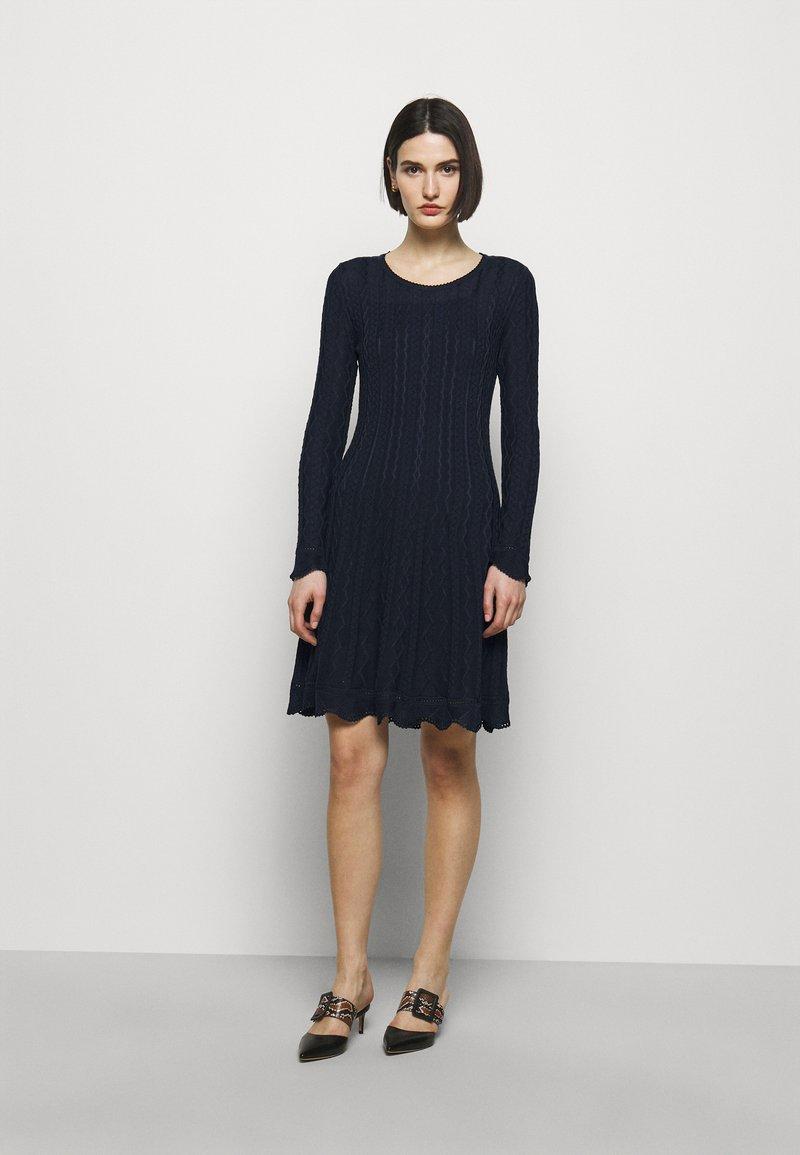 M Missoni - ABITO - Gebreide jurk - dark blue