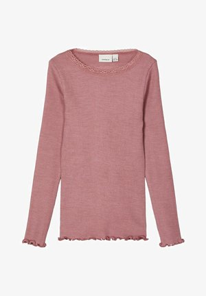 Long sleeved top - nostalgia rose