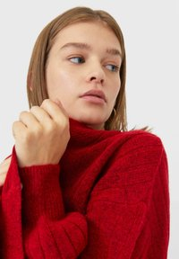 Stradivarius - Cardigan - red - 3