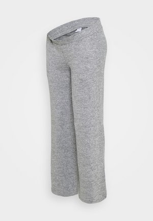 MLILA WIDE PANT - Trousers - medium grey melange