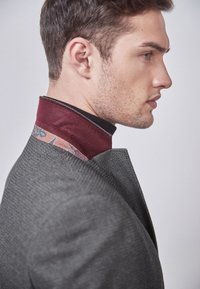 Next - SLIM FIT  - Blazer jacket - mottled grey - 3