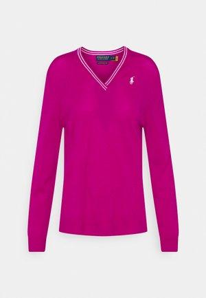 Jersey de punto - aruba pink/pure white