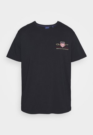 ARCHIVE SHIELD  - T-shirt med print - black