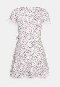 Hollister Co. - DRESS - Jerseykjole - white - 6