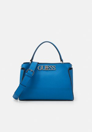 UPTOWN CHIC TURNLOCK SATCHEL - Handtas - blue