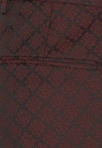 Shelby & Sons - BELLEVUE SUIT SET - Completo - burgundy - 8