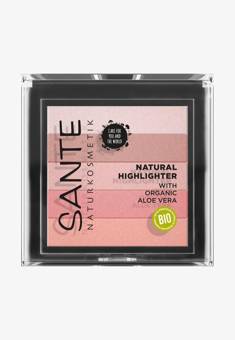 Sante - NATURAL HIGHLIGHTER - Highlighter - 02 rose