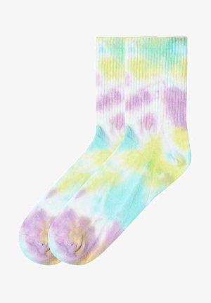 MIT MUSTER - Socks - purple/light blue tie-dye