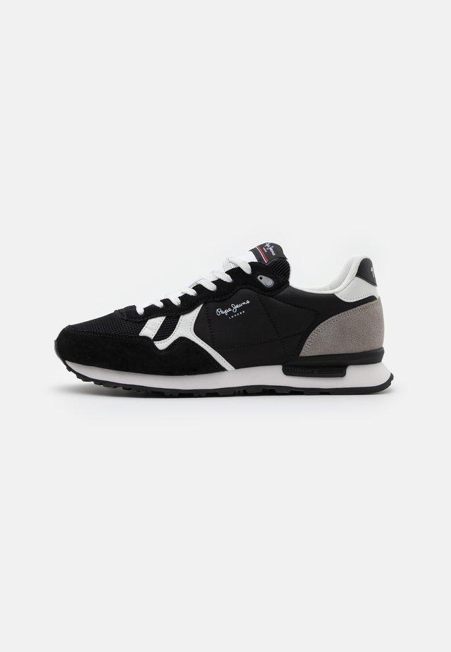 BRITT MAN BASIC - Sneakersy niskie - antracite