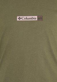 Columbia - RAPID RIDGE BACK GRAPHIC TEE II - Print T-shirt - stone green triple peak - 2