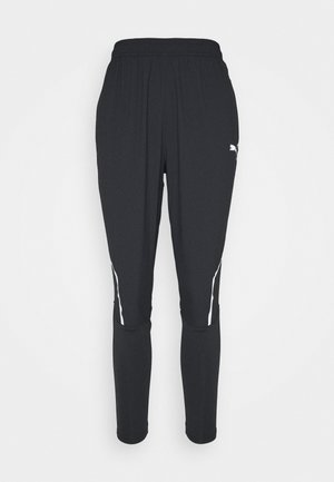 RUN TAPERED PANTS - Træningsbukser - black