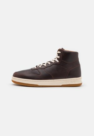 MALONE MID UNISEX - High-top trainers - walrus brown