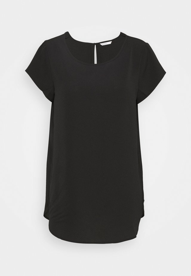 ONLNOVA LUX SOLID - T-shirt basic - black