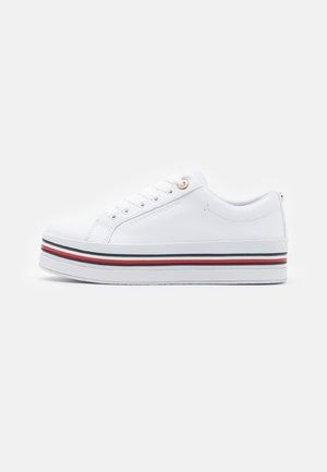 CORPORATE FLATFORM CUPSOLE - Sneakers basse - white