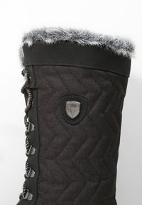 CMP - NIETOS - Zimní obuv - nero melange - 5