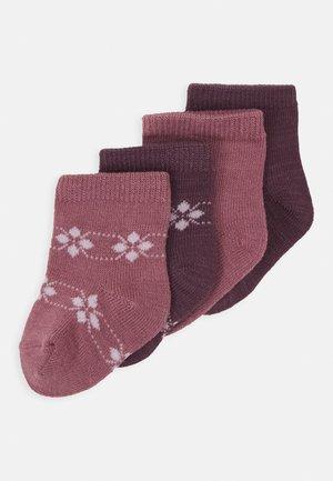 NBFWAK SOCK 4 PACK - Socks - nostalgia rose