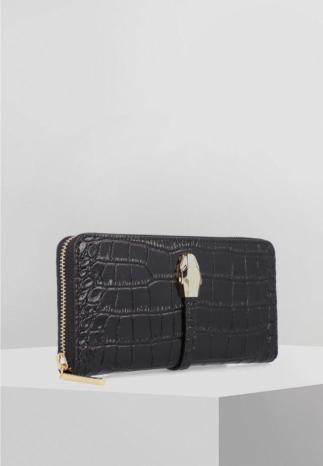 OLIVIA GELDBÖRSE LEDER 20 CM - Wallet - black