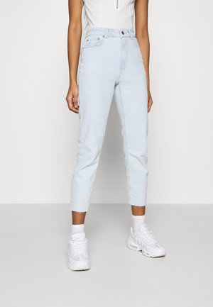 ONLEMILY LIFE CROP - Skinny-Farkut - light blue denim