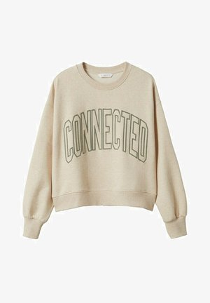 CONNECT - Sweater - sand