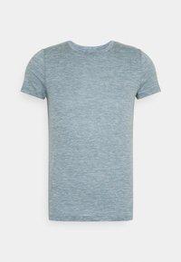 Icebreaker - DOWLAS CREWE - Basic T-shirt - gravel - 0