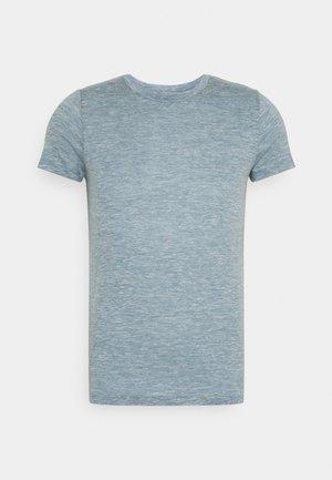 DOWLAS CREWE - T-shirts - gravel