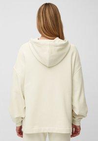Marc O'Polo - Zip-up sweatshirt - raw cream - 2