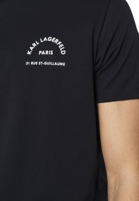 KARL LAGERFELD - CREWNECK - Print T-shirt - midnight blue - 4