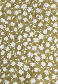 Supermom - TEE FLOWER - Printtipaita - olive - 2