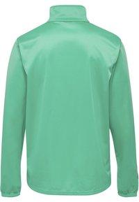 Hummel - TWO PIECE SET - Training jacket - atlantis/marine - 2