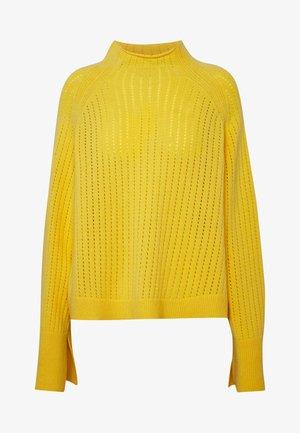 VIKKI - Strikkegenser - empire yellow