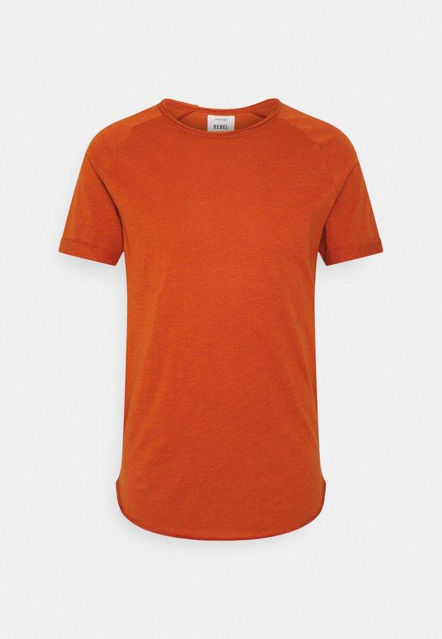 KAS TEE - T-shirt basic - bombay brown