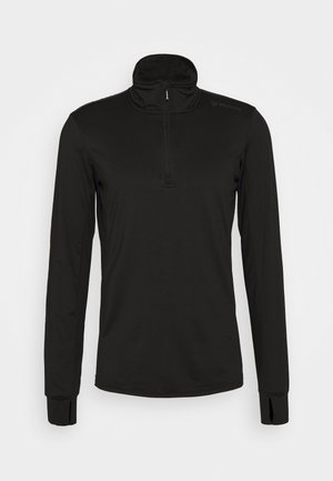 TERNI MENS - Long sleeved top - black