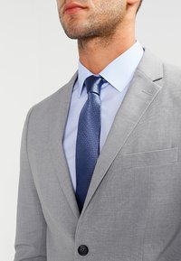 Lindbergh - PLAIN MENS SUIT - Kostym - light grey melange - 5