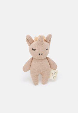 MINI UNICORN UNISEX - Cuddly toy - rose fawn