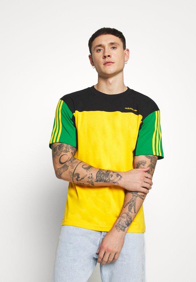 CLASSICS TEE - T-shirt imprimé - actgol/black