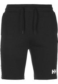 Helly Hansen - ACTIVE SHORTS - Sports shorts - ebony - 0