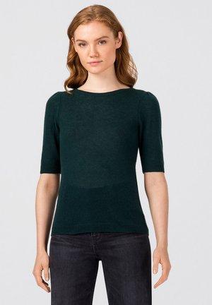 Basic T-shirt - dunkelgrün