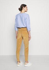 Fransa - FRHACORDUROY PANTS - Trousers - sesame - 2