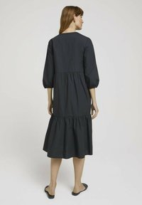 TOM TAILOR - Robe d'été - deep black - 2