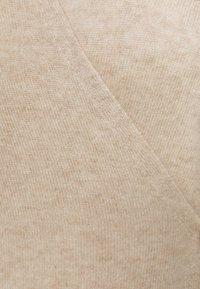pure cashmere - WRAP CARDIGAN - Vest - oatmeal - 2