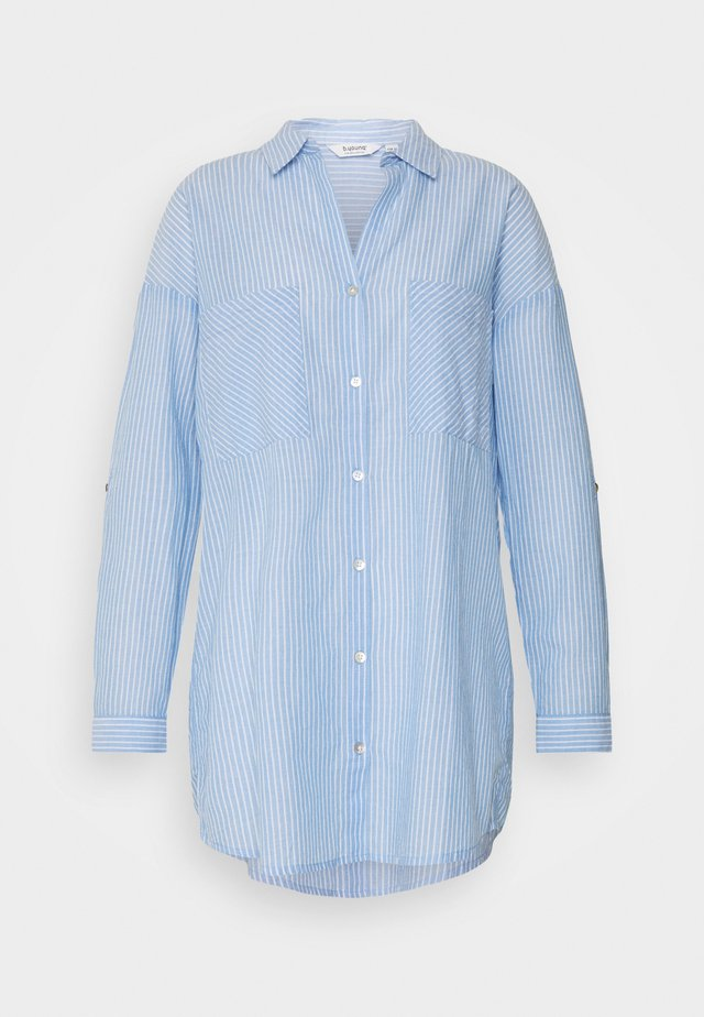 BYFIE STRIPE - Button-down blouse - marina mix