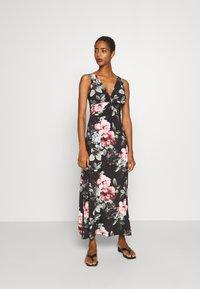Anna Field - Maxi dress - black/pink/light green - 0