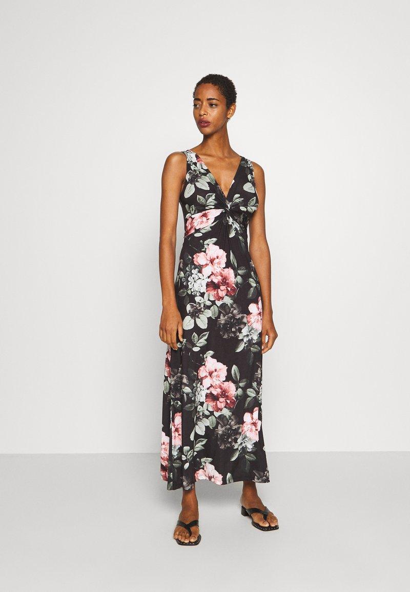 Anna Field - Maxi dress - black/pink/light green