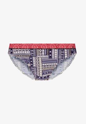 PANT - Bikini bottoms - blue/red